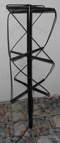 Quadrifilar Helix 137 MHz