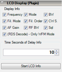 LCD Plugin SDR#