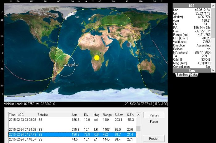 Predict ISS 24/02/15