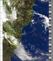 NOAA 18 04/03/15 07:20 UTC - 137.9125 MHz