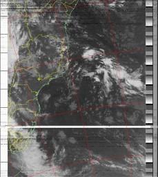 NOAA 19 04/03/15 04:20 UTC - 137.100 Mhz